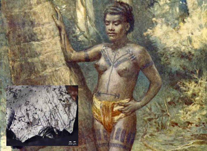 Dövme ilkel toplumlarda aidiyet ve statü göstergesiydi