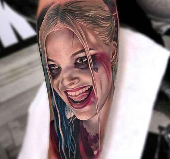 gerçek görünümlü realistik dövmeler