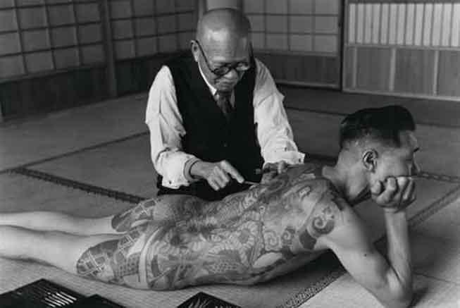 Japon Dövme tekniği