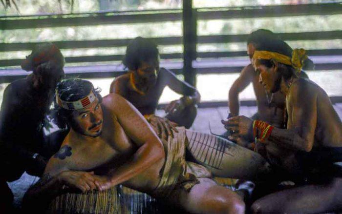 Samoan Dövme Tekniği