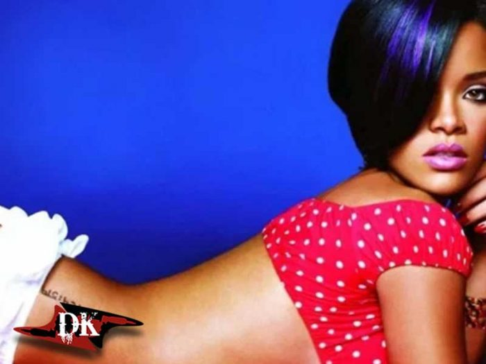 Rihanna Kalça Dövmesi