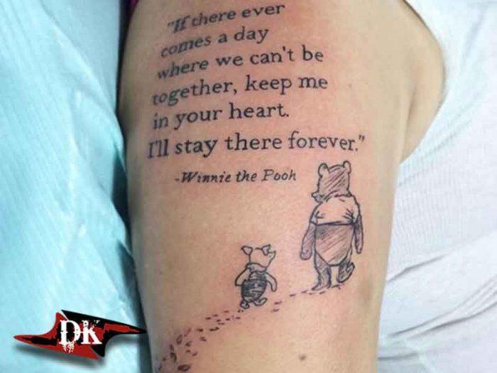 Winnie the Pooh Dövmesi