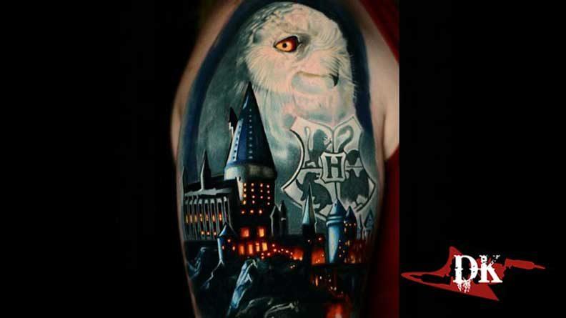Harry Potter Baykuş Dövmesi