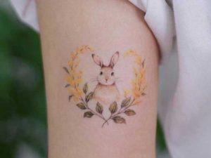 Küçük Tavşan Dövmesi