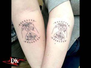 Yakın Arkadaşınızla Yapacağınız Dövme Modelleri
